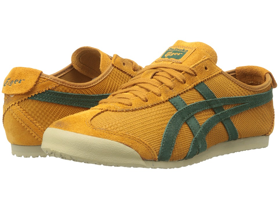 Onitsuka Tiger by Asics - Mexico 66 (Mustard/Dark Green) Shoes