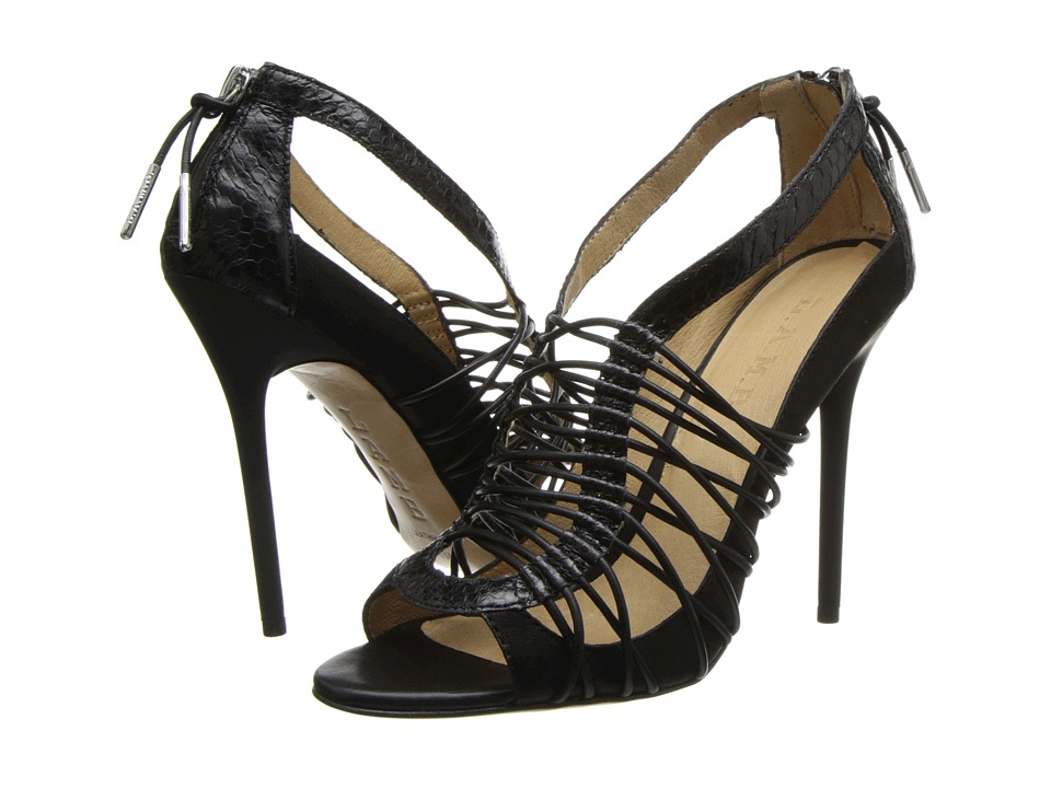 L.A.M.B. Raivyn (Black) High Heels