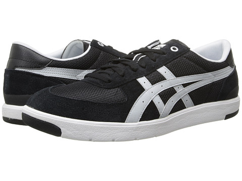 Onitsuka Tiger by Asics - Pine Star Court Lo (Black/Light Grey) Shoes