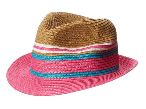 Appaman Kids - Audrey Fedora (Infant/Toddler/Little Kids/Big Kids) (Goji Berry) Fedora Hats