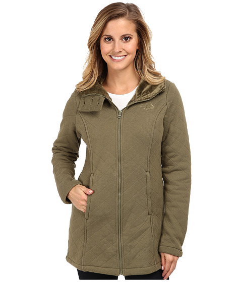 The North Face - Caroluna Jacket (Burnt Olive Green) Women