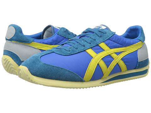 Onitsuka Tiger by Asics - California 78 Vintage (Mid Blue/Green Sheen) Classic Shoes