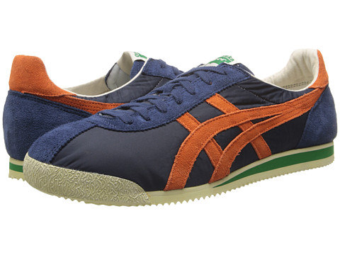 Onitsuka Tiger by Asics - Tiger Corsair VIN (Navy/Orange) Shoes