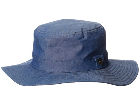 Appaman Kids - Wide Brim Bucket Hat (Infant/Toddler/Little Kids/Big Kids) (Chambray 2) Bucket Caps