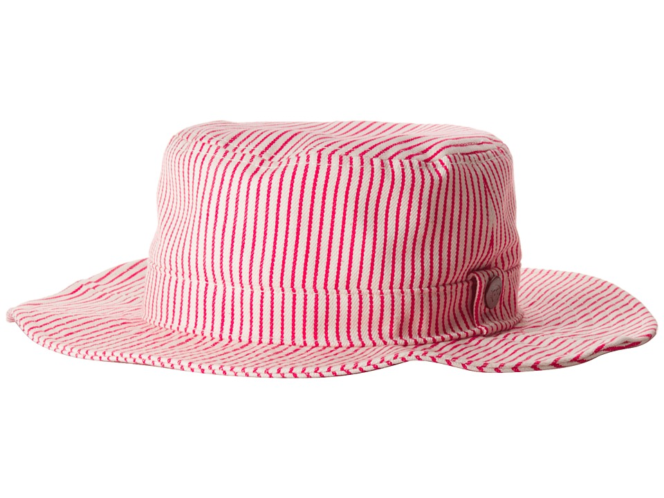 Appaman Kids - Wide Brim Bucket Hat (Infant/Toddler/Little Kids/Big Kids) (Goji Berry) Bucket Caps