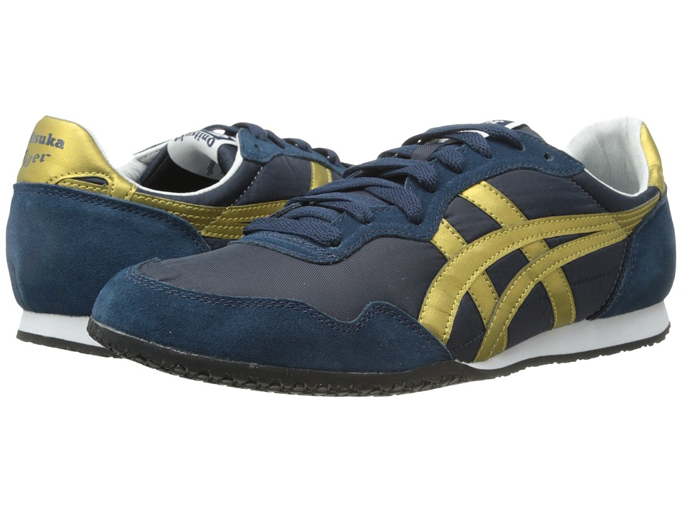 Onitsuka Tiger by Asics - Serrano (Navy/Gold) Classic Shoes