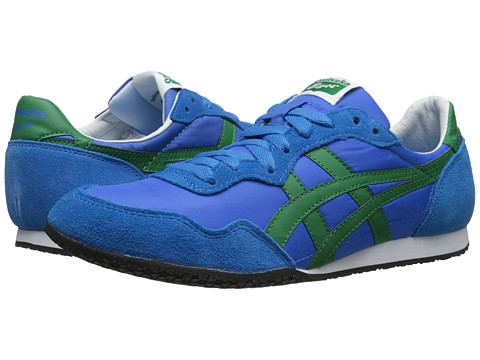 Onitsuka Tiger by Asics - Serrano (Mid Blue/Green) Classic Shoes