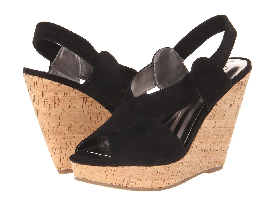 CARLOS by Carlos Santana Moneta (Black Suede) Women