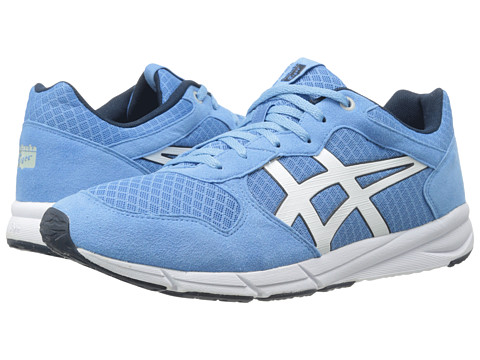 Onitsuka Tiger by Asics - Shaw Runner (Atomic Blue/White) Lace up casual Shoes