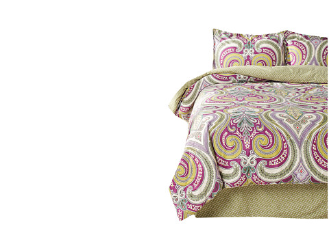 Echo Design - Vineyard Paisley Comforter Set - Full (Multi) Sheets Bedding
