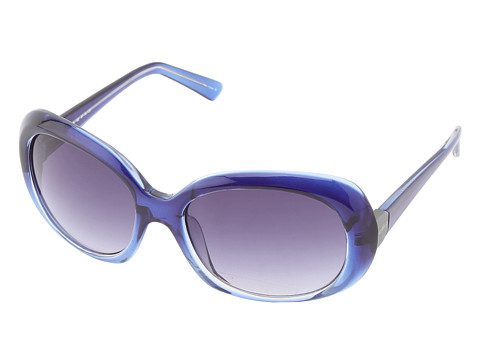 Cole Haan - C698 (Empire Blue Fade) Plastic Frame Fashion Sunglasses
