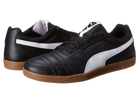 PUMA - Paulista Novo (Black/White) Men's Shoes