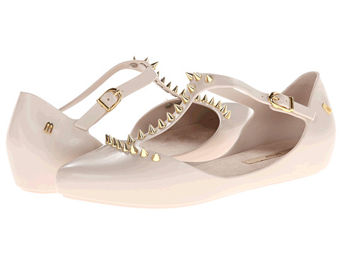 Melissa Shoes - Melissa Doris Spike (Beige/Gold) Women