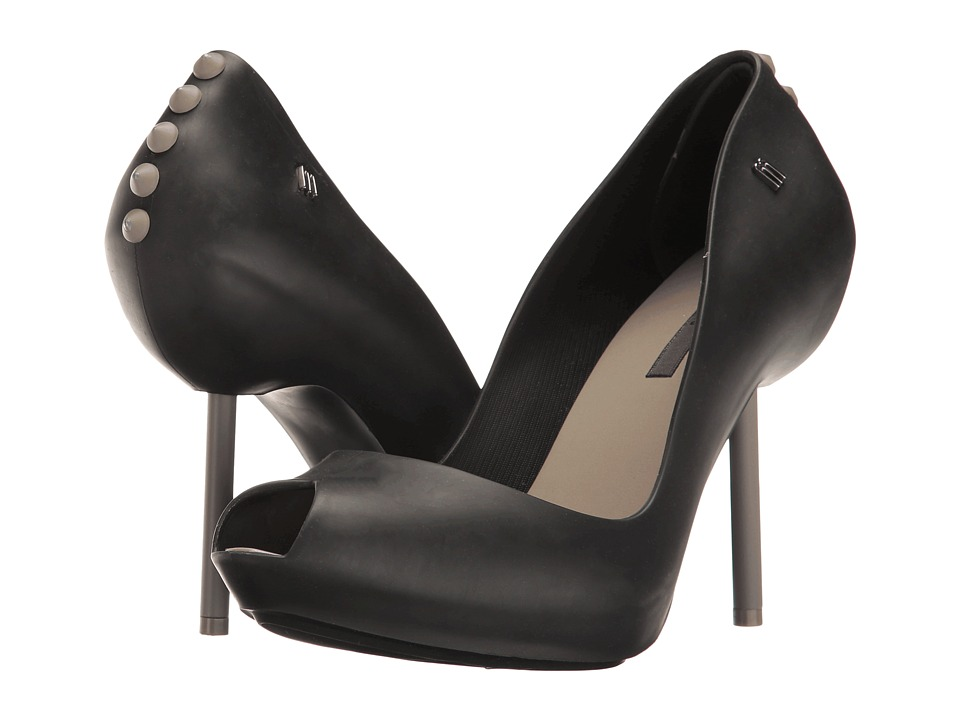 Melissa Shoes Melissa Spikes (Black/Silver) High Heels