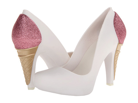 Melissa Shoes - Melissa Incense + Karl Lagerfeld (White Pink) High Heels