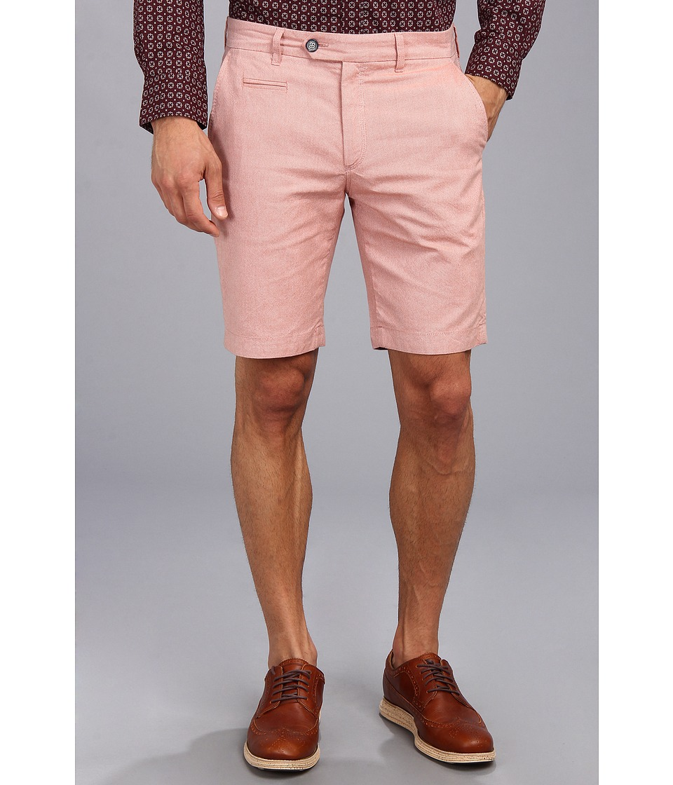 Ted Baker - Oxshor Oxford Cotton Short (Orange) Men's Shorts