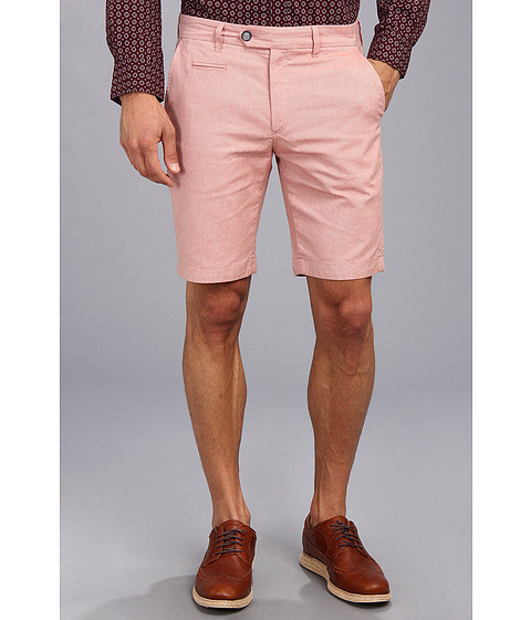 Ted Baker - Oxshor Oxford Cotton Short (Orange) Men
