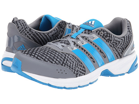 adidas Running - Madison RNR (Grey/Silver Metallic/Solar Blue) Men