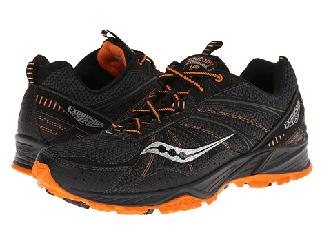 Saucony - Grid Excursion TR8 (Black/Orange) Men