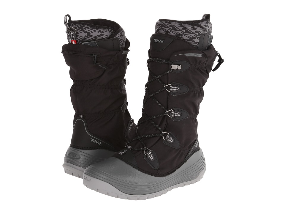 Teva - Jordanelle 3 WP (Black) Women's Cold Weather Boots