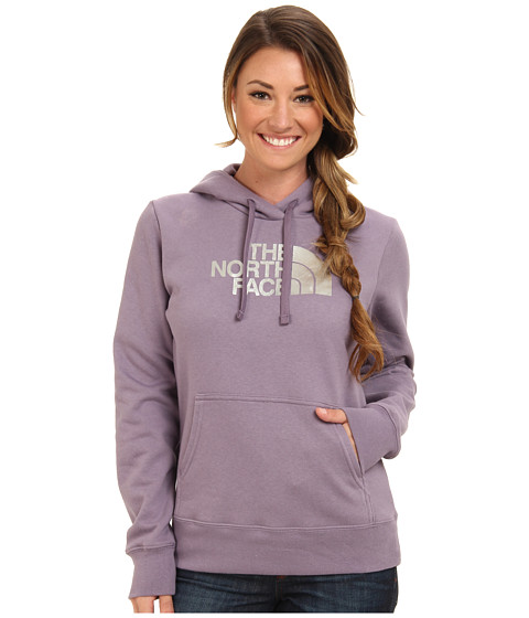 The North Face - Half Dome Hoodie (Purple Sage/Silver Foil) Women