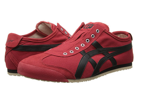 Onitsuka Tiger by Asics - Mexico 66 Slip-On (Red/Black) Shoes