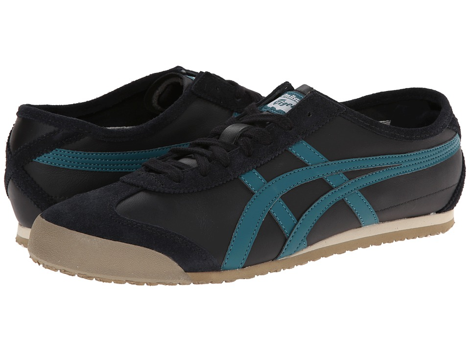Onitsuka Tiger by Asics - Mexico 66 (Black/Shaded Spruce) Shoes