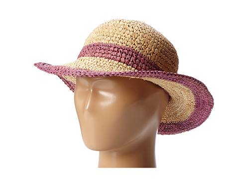 Appaman Kids - The Perfect Straw Sunny Hat (Toddler/Little Kids/Big Kids) (Goji Berry) Traditional Hats
