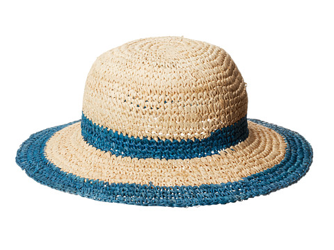 Appaman Kids - The Perfect Straw Sunny Hat (Toddler/Little Kids/Big Kids) (Waikiki) Traditional Hats