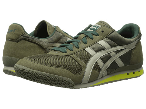 Onitsuka Tiger by Asics - Ultimate 81 (Olive Camo/Sand) Classic Shoes
