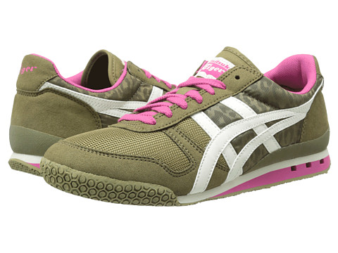 Onitsuka Tiger by Asics - Ultimate 81 (Olive Leopard/Off-White) Women