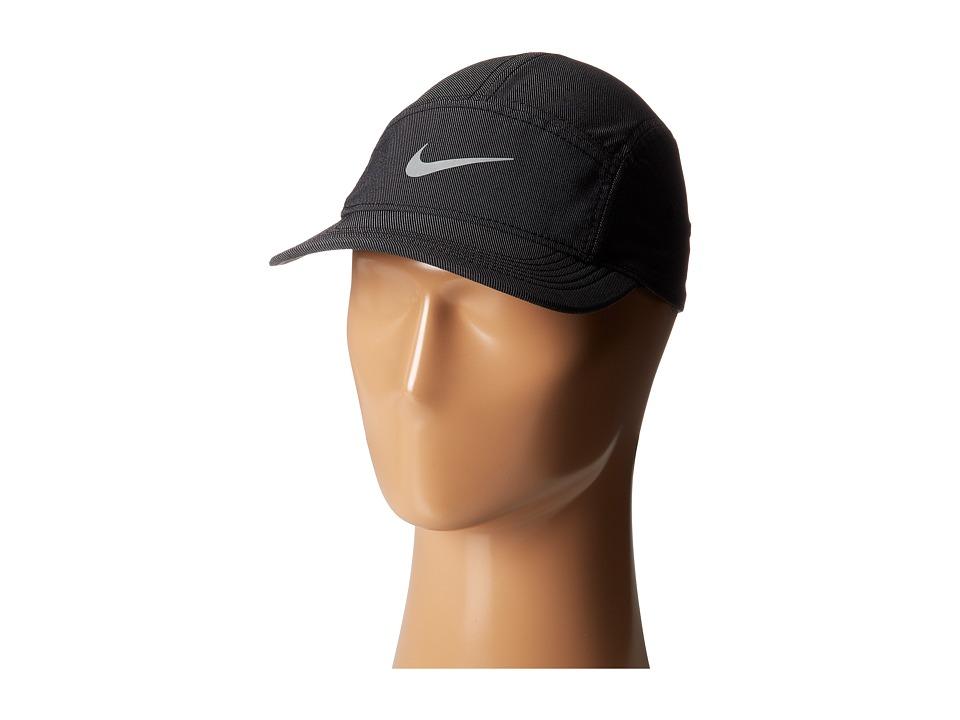 Nike - AW84 Cap (Black/Black/Reflective Silver) Baseball Caps