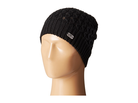 Nike - Beanie-Slouchy Knit (Black/Antique Silver) Beanies
