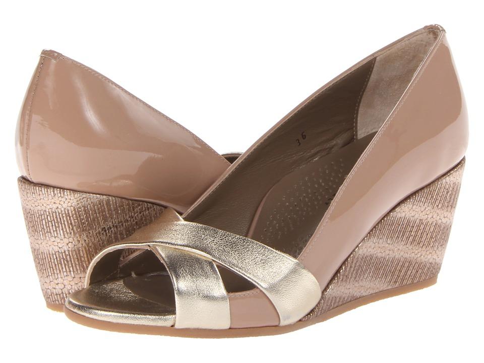 Image of Anyi Lu - Daphne (Platnum/Bisque) Women's Shoes