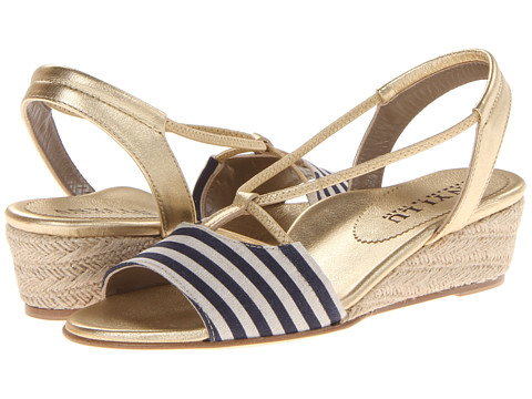 Anyi Lu - Leah (Yacht Blue Stripes) Women's Shoes