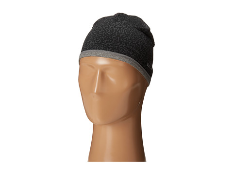 Nike - Perf Reversible Beanie (Big Kids) (Anthracite/Carbon Heather/Black) Beanies