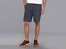 DKNY Jeans Ikat Print Flat Front Short