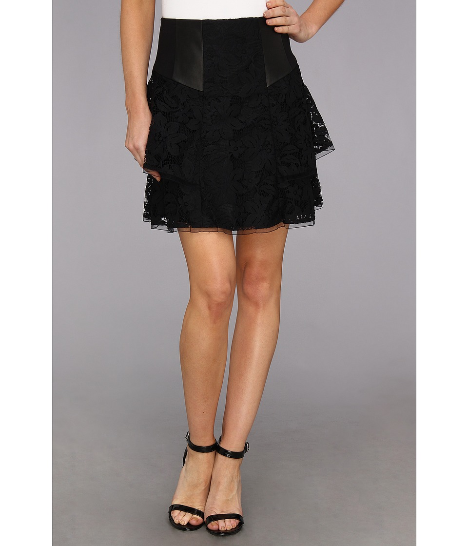 Nanette Lepore - Falling For U Skirt (Black) Women