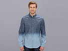 DKNY Jeans L/S Dip Dye Ombre Denim Shirt-Casual Press