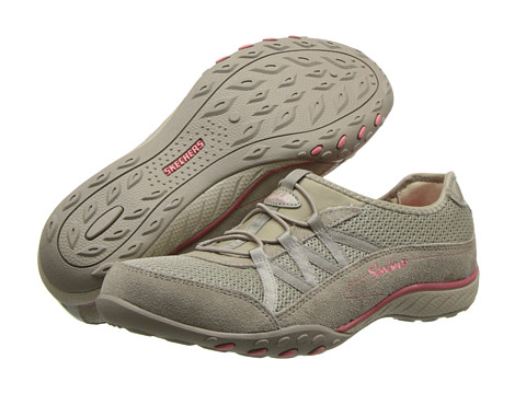 SKECHERS - Breathe Easy - Relaxation (Taupe 1) Women's Shoes