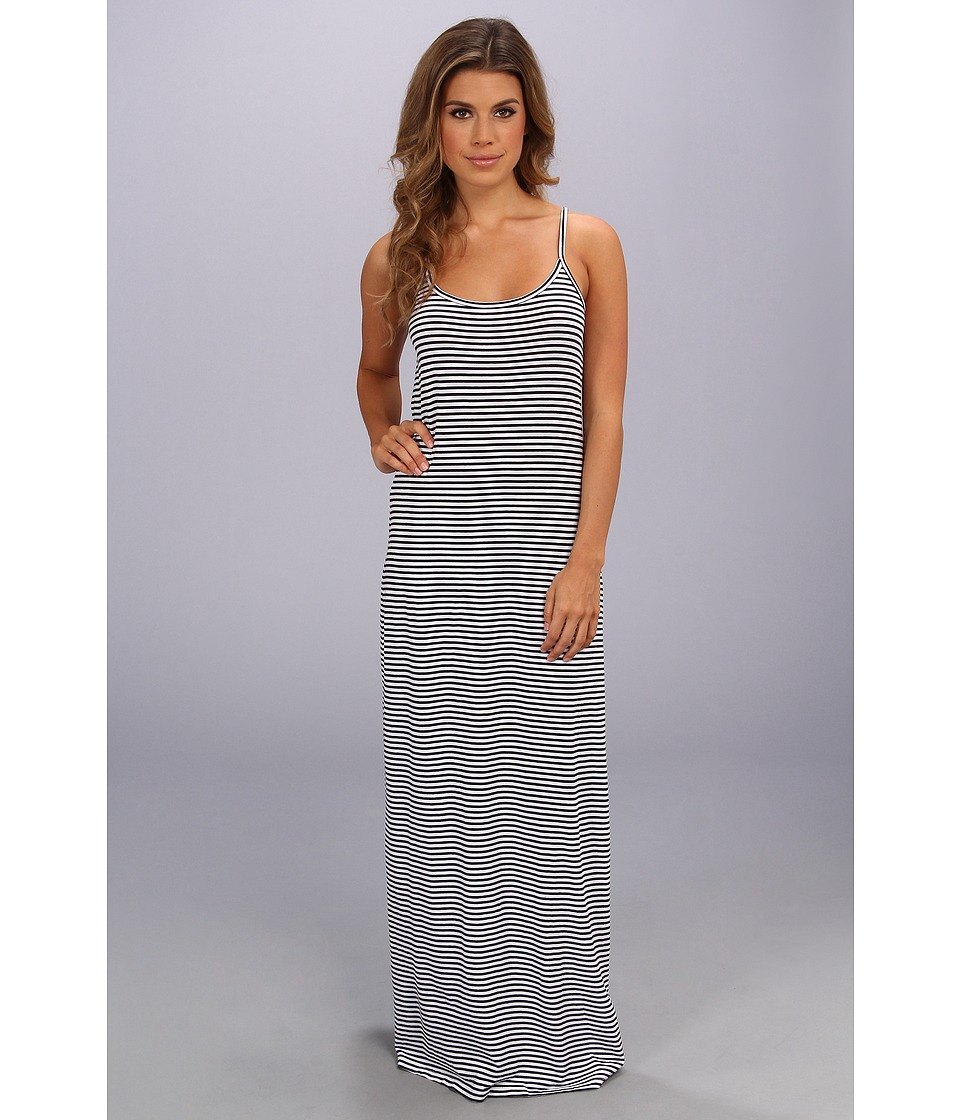 Splendid - Cami Maxi Dress - Stripe (White) Women's Dress