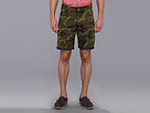 DKNY Jeans 5-Pocket Canvas Camo Short