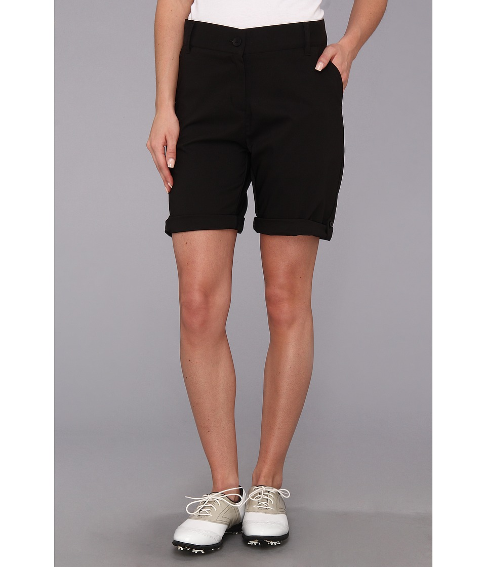 Heather Grey - Erika Shorts (Black) Women's Shorts