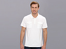 DKNY Jeans S/S 2-Pocket Jersey Polo (White)