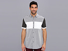 DKNY Jeans S/S Color Block Slim Fit Shirt-City Press