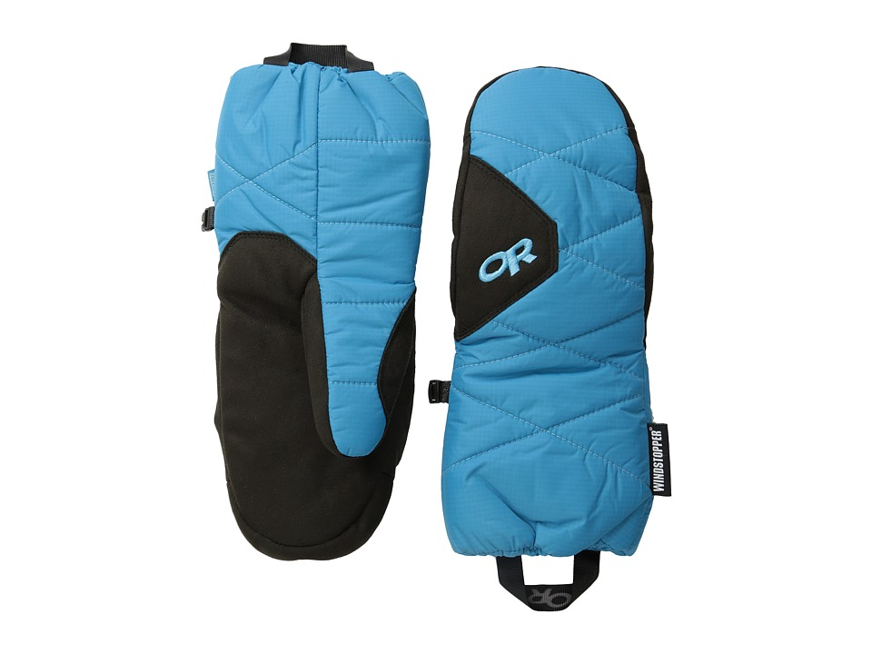 Outdoor Research - Phosphor Mitts (Alpine Lake/Rio) Extreme Cold Weather Gloves