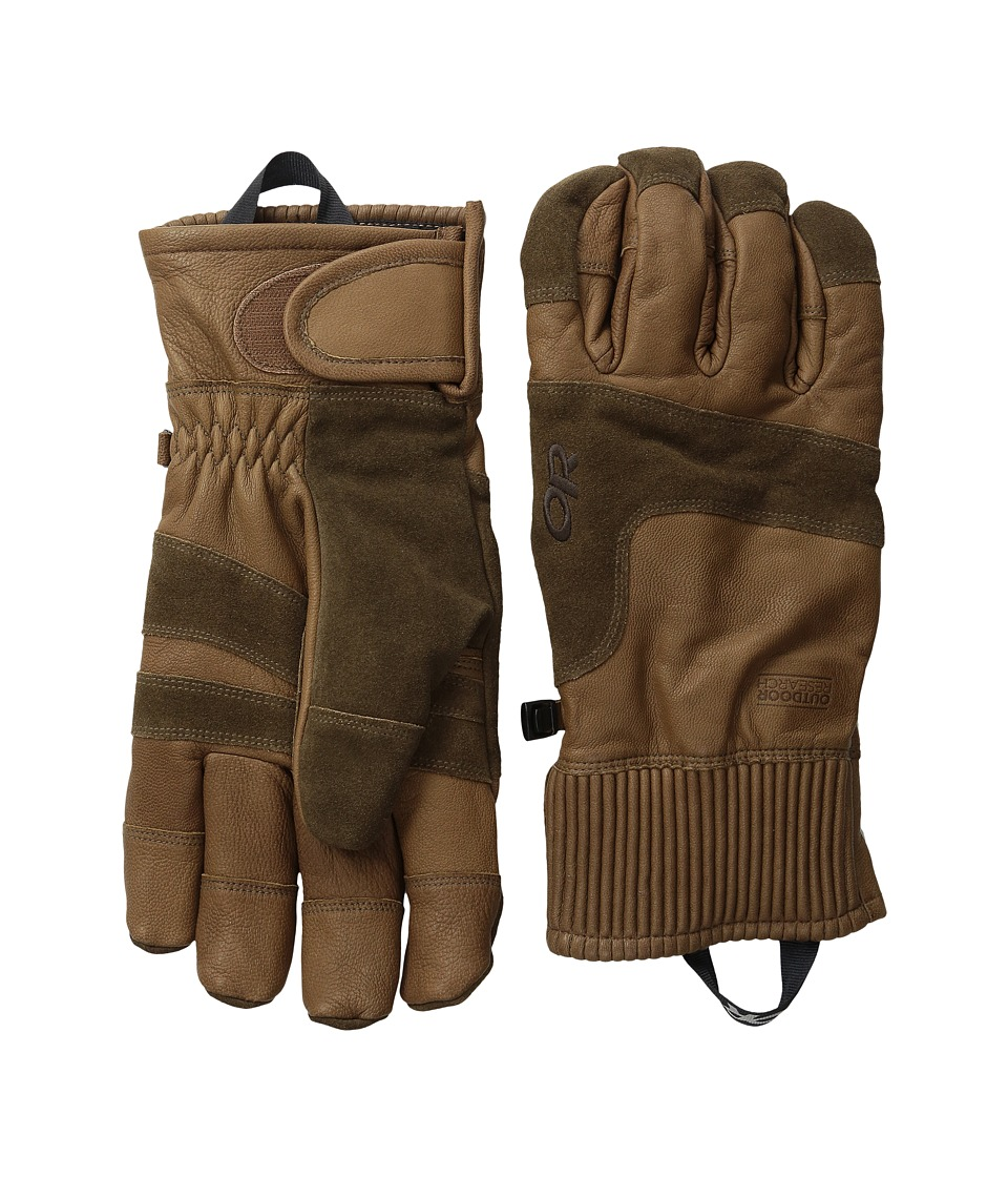 Outdoor Research - Rivet Gloves (Coffee) Extreme Cold Weather Gloves