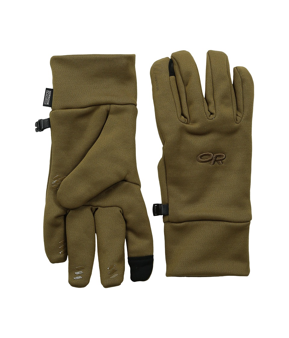 Outdoor Research - Pl 400 Sensor Gloves (Coyote) Extreme Cold Weather Gloves
