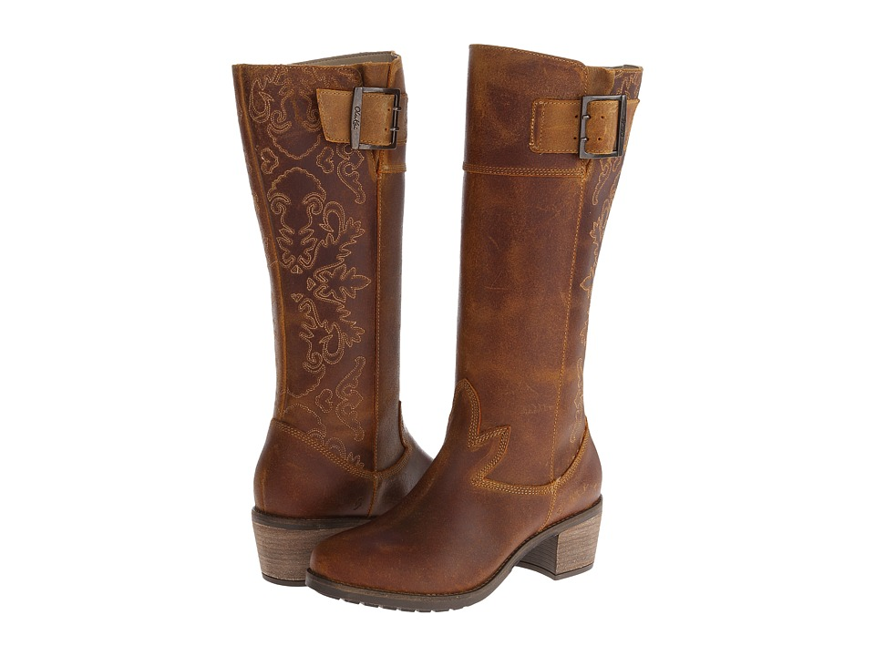 OluKai - Emalani (Toffee/Toffee) Women's Pull-on Boots