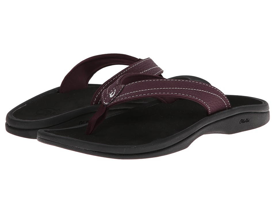 OluKai - Ohana W (Fig/Black) Women's Sandals